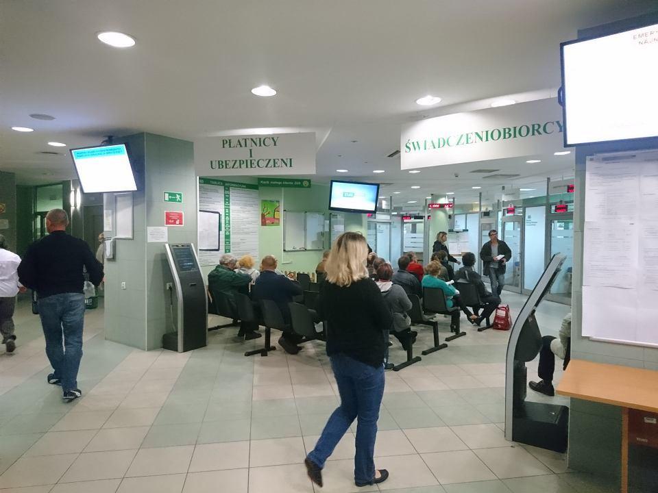 Oddział ZUS w Toruniu przy ul. Mickiewicza przyjmuje wnioski o emeryturę