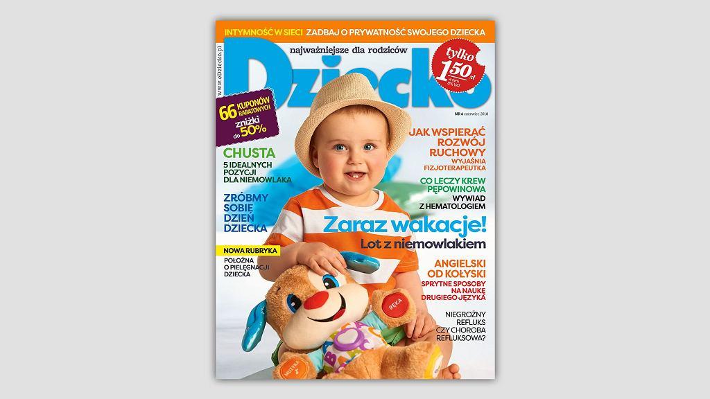 Nowy numer miesięcznika 'Dziecko'