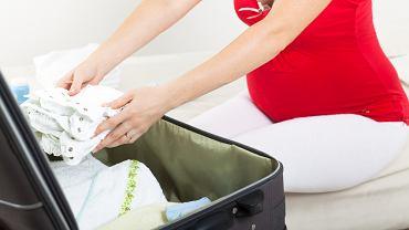 Torba do szpitala powinna być spakowana kilka tygodni przed planowanym terminem porodu.