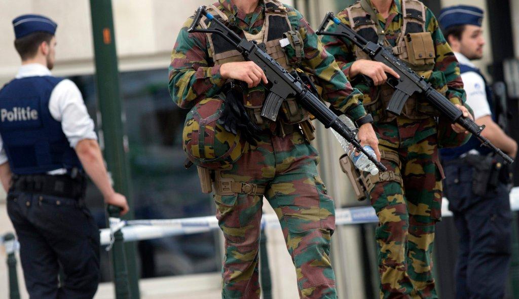 Akcja antyterrorystów w Belgii