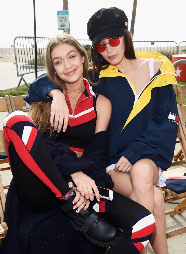 Siostry Hadid - pokaz Tommy Hilfiger wiosna-lato 2017