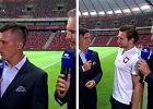 Grzegorz Krychowiak komentuje nieuznanego gola podczas meczu Polska - Litwa
