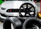 Ford Mustang Shelby GT350 | Pierwsze karbonowe felgi
