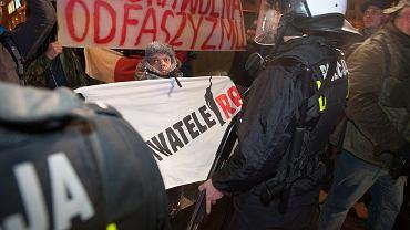 11 listopada we Wrocławiu. Starcie demokratów z narodowcami
