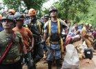 Nikaragua. Uratowano 20 g�rnik�w uwi�zionych w kopalni. Nadal poszukuj� co najmniej czterech