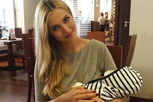 Rozalia Mancewicz z synem