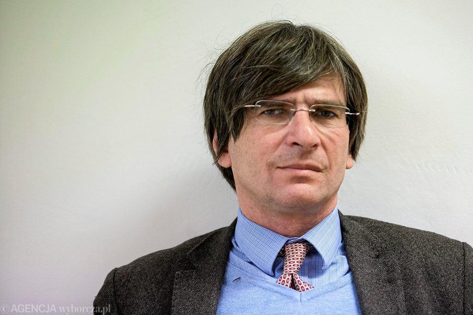 Krzysztof Skowroński, prezes Stowarzyszenia Dziennikarzy Polskich, wraca do TVP