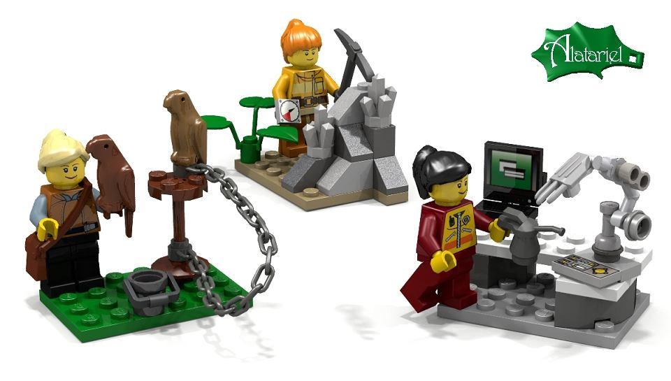 Klocki Różne Ale Równe Kobiety Lego Będą Miały Ciekawsze życie