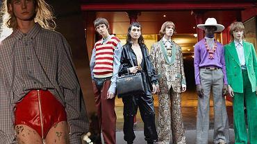 Gucci promuje nową kolekcję