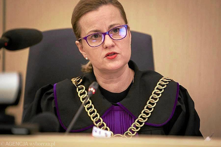 Sędzia Magdalena Grzybek