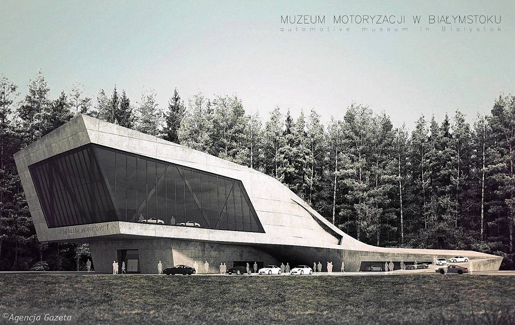 Projekt Białostockiego Muzeum Motoryzacji