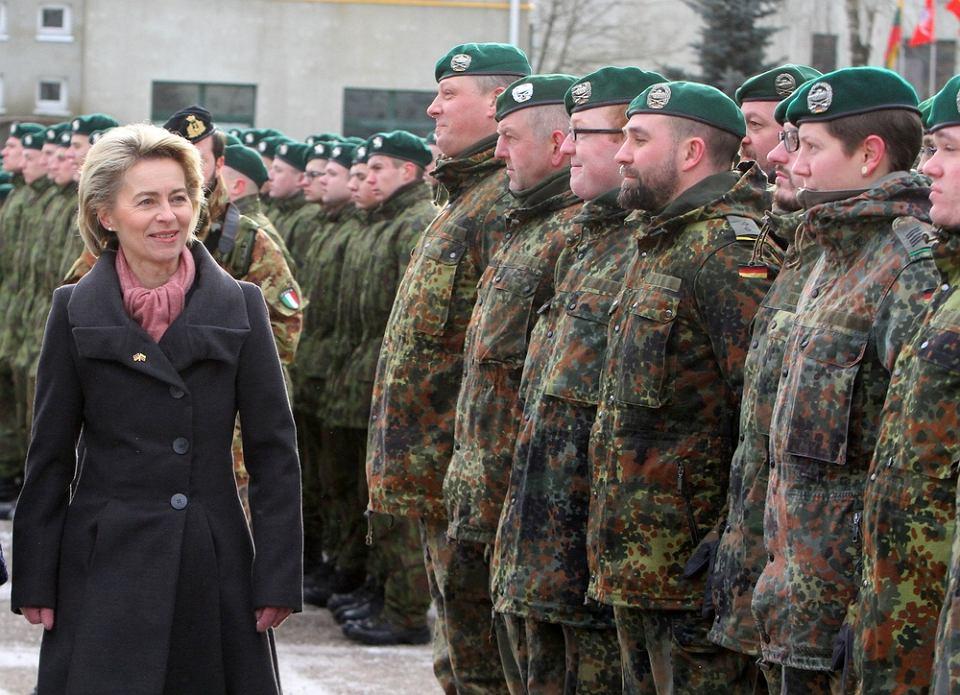 Czy niemiecka minister obrony to