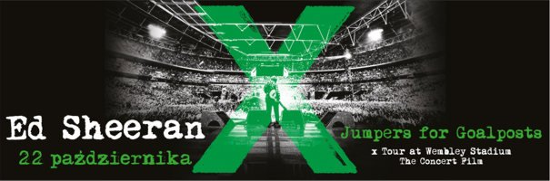 """22 października zaprezentowany zostanie koncert """"Ed Sheeran: Jumpers for Goalposts""""."""