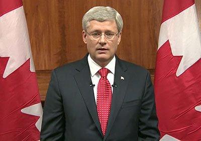 """""""Kanada nie da si� zastraszy�"""". Zamachowiec przeszed� na islam"""