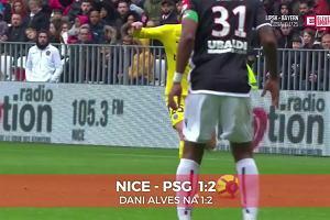 Nice - PSG 1:2. Alves na 1:2 [ELEVEN SPORTS]
