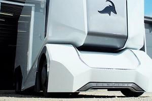 Kosmiczna ciężarówka T-Pod. Bez kierowcy