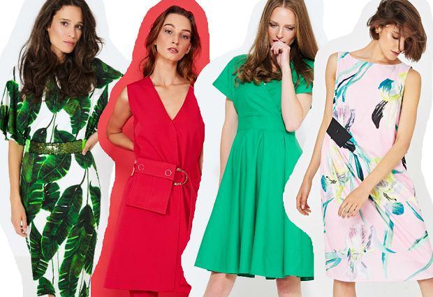 Simple - sukienki na wiosnę