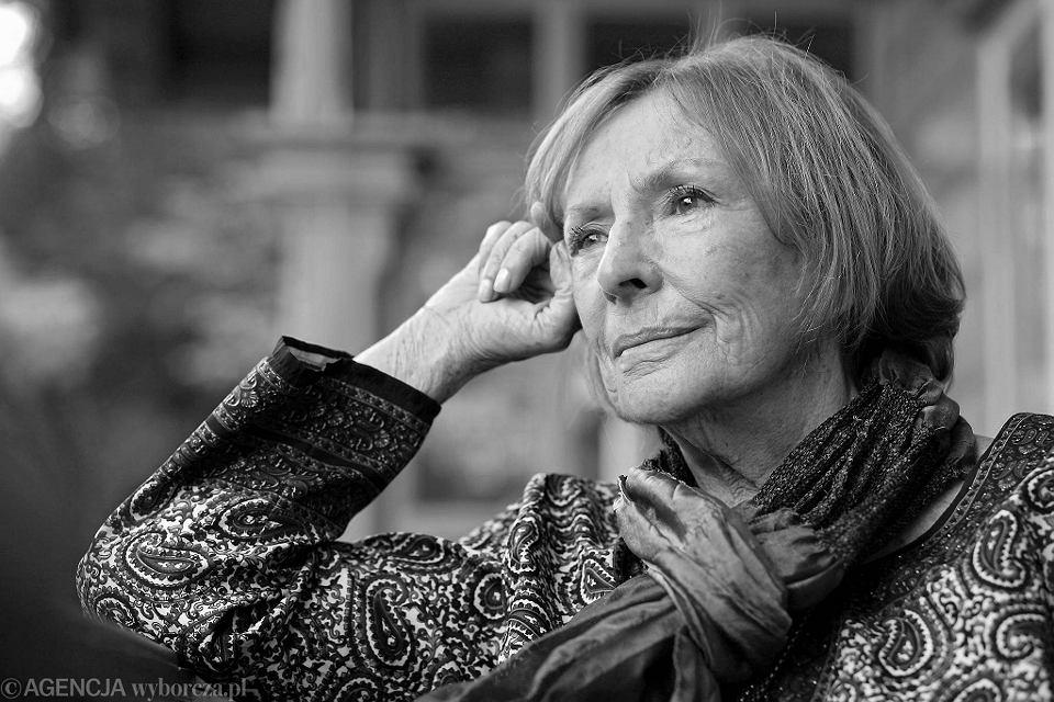 Zdjęcie numer 1 w galerii - Wanda Chotomska, autorka książek dla dzieci, zmarła dziś w Warszawie