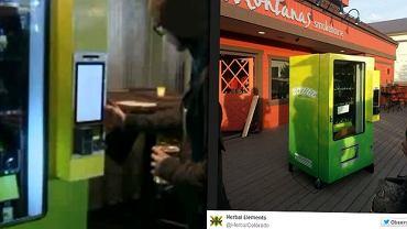 Automat do sprzedaży marihuany