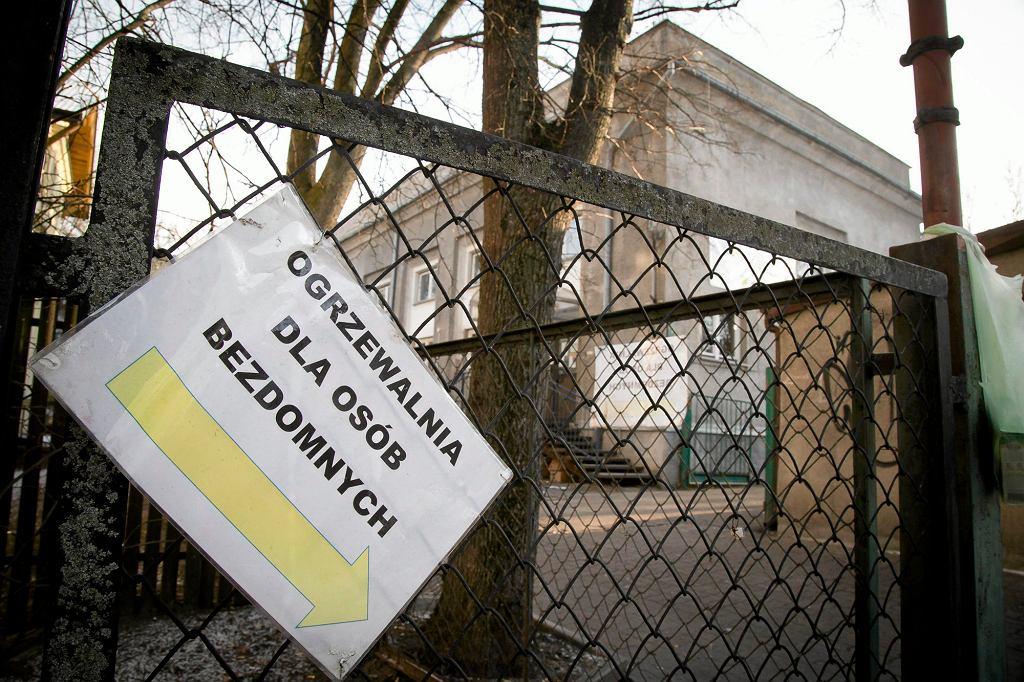 Ogrzewalnia dla bezdomnych w Białymstoku (fot. Agnieszka Sadowska/ Agencja Gazeta)