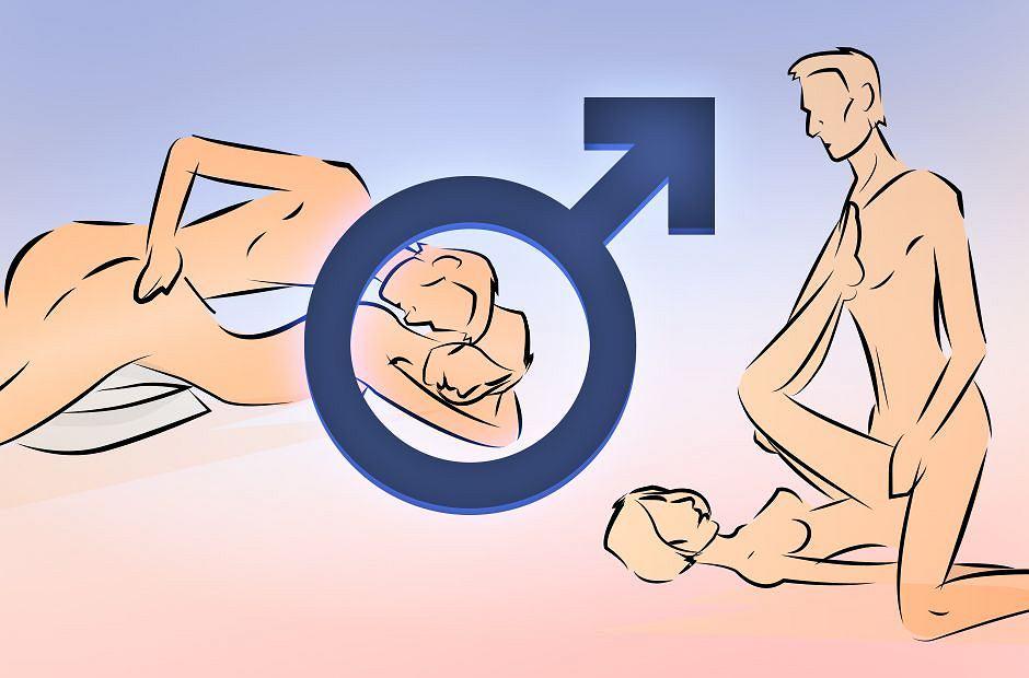 Mężczyźni lubią się tak kochać, chociaż niekoniecznie w tych pozycjach niepodzielnie rządzą