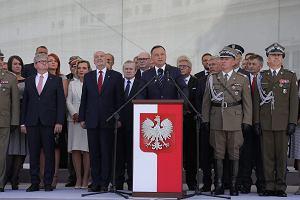 Prezydent Andrzej Duda na obchodach Święta Wojska Polskiego: Armia RP nie jest niczyją prywatną armią