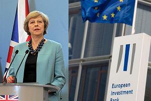 Europejski Bank Inwestycyjny zamraża pieniądze dla Wielkiej Brytanii. Przez Brexit