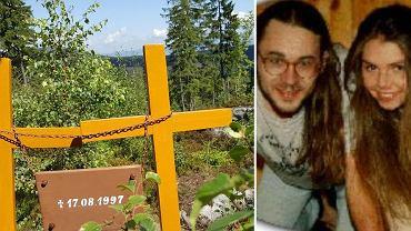 Krzyże upamiętniające Annę i Roberta
