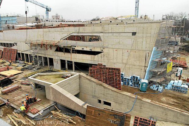 Budowa sali koncertowej na Jordankach, fot. MIKOŁAJ KURAS