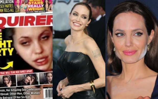 Angelinie Jolie nigdy nie zdarza�y si� WPADKI. Ostatnio zalicza jedn� za drug�