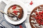 Ciasto cytrynowe z porzeczkami