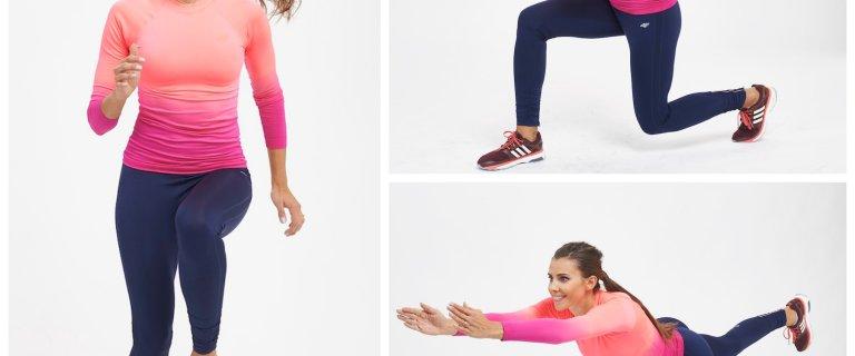 Przygotowanie do nart. 5 ćwiczeń wzmacniających nogi