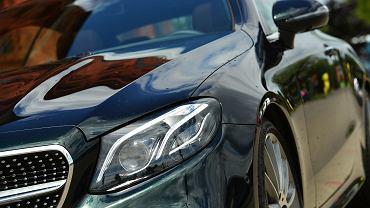 Mercedes-Benz E300 Coupe - przód