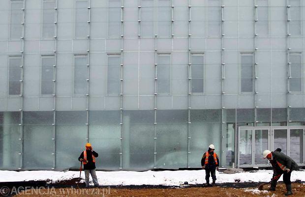 19.03.2013 Katowice . Budowa Muzeum Slaskiego . Fot. Grzegorz Celejewski / Agencja Gazeta    SLOWA KLUCZOWE: Muzeum Slaskie