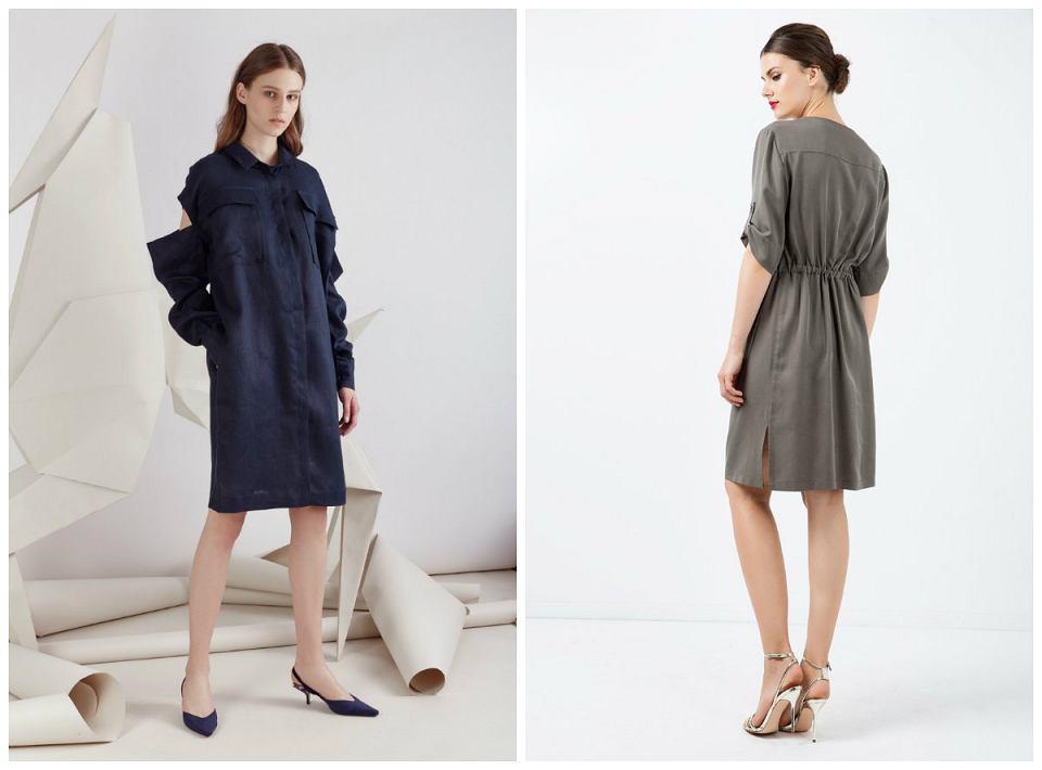 82e7ae254e Lniane sukienki - idealny wybór na lato
