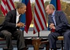 Barack Obama i W�adimir Putin podczas spotkania 17 czerwca 2013 roku