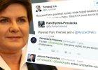 Beata Szyd�o i reakcje z Twittera