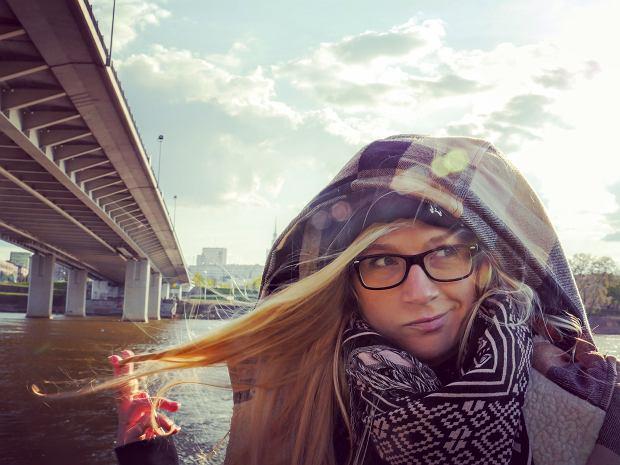 Zuzanna Kloc - z zawodu prawniczka, po godzinach sportowy 'harpagan' (jak mówi o niej Andrzej)