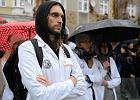 Olsztyn poparł protest rezydentów. Padły mocne słowa [WIDEO]