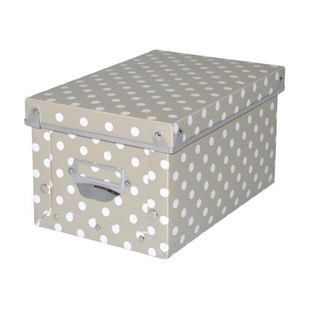 Pudełko małe form kropki