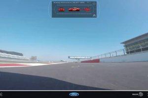 Mustang na Silverstone | Okr��enie z wielu perspektyw | Wideo
