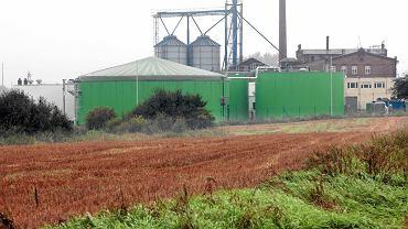 Elektrociepłownia biogazowa koło Piły