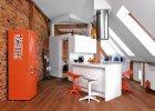 Mieszkanie na strychu - pomysł na skosy