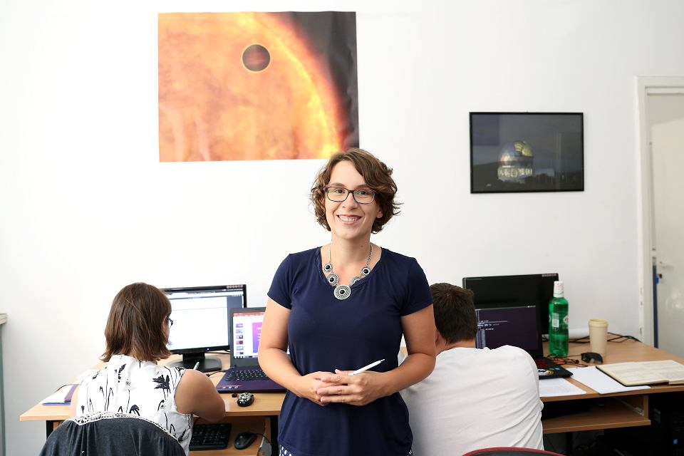 Astronomka Z Umk Doceniona Dostanie 2 Mln Zl Na Badania