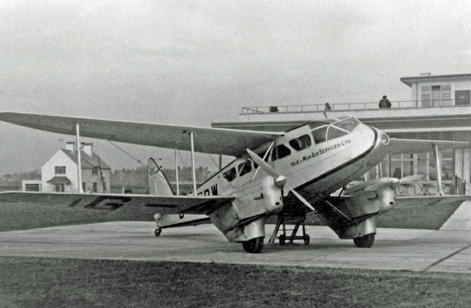 Samolot DH Dragon Rapid