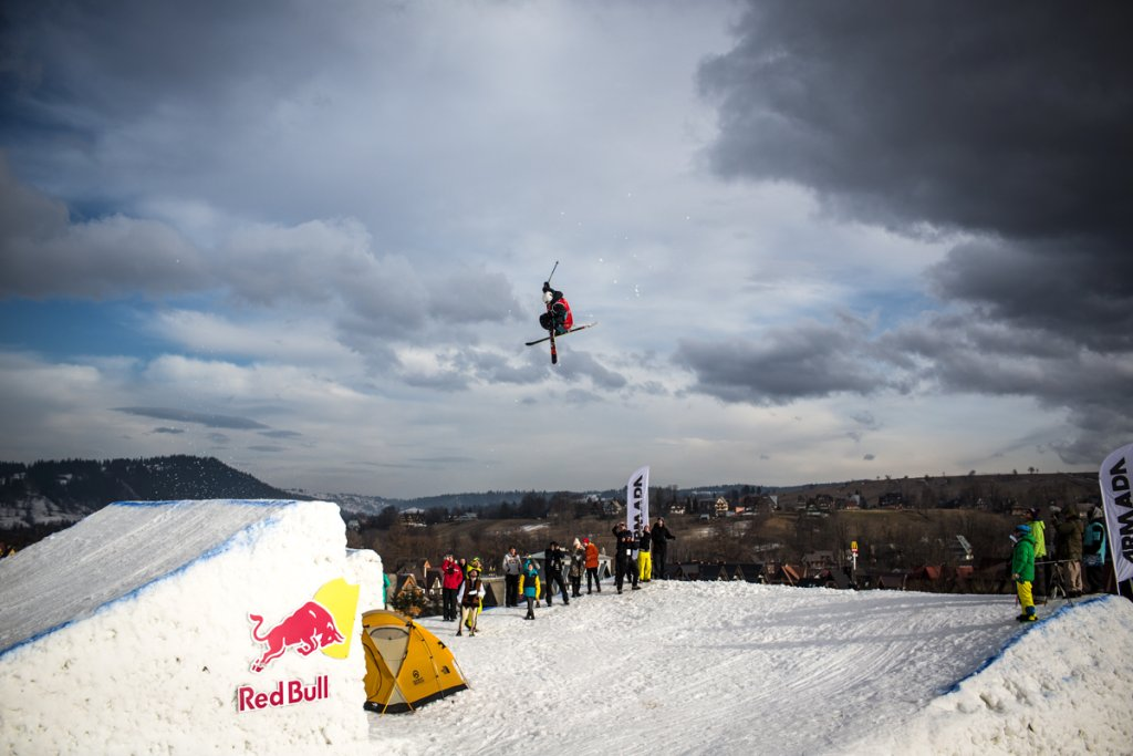 Bartek Sibiga | The North Face Polish Freeskiing Open 2014. Harenda, Zakopane 31.01-01.02.2014