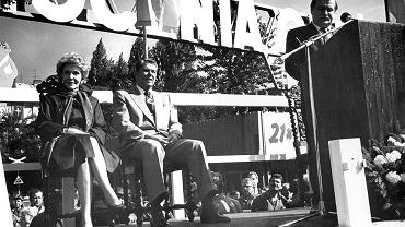 Roland Reagan z wizytą w Gdańsku