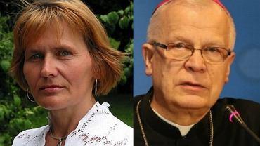 Ewa Orłowska, abp Józef Michalik