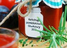 Ketchup pomidorowo-�liwkowy - ugotuj