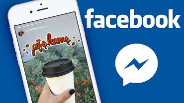 Facebook wprowadza nowe funkcje Messengera i testuje je na razie tylko w Polsce
